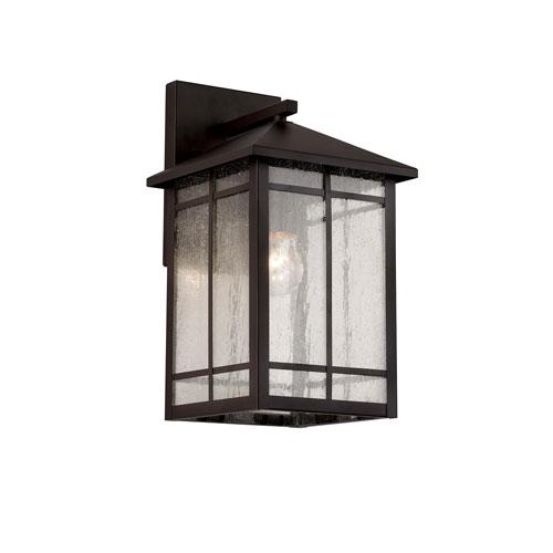 Capistrano Oil Rubbed Bronze  One-Light Wall Lantern