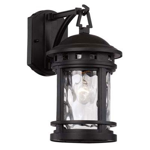 Boardwalk Black Seven-Inch One-Light Wall Lantern