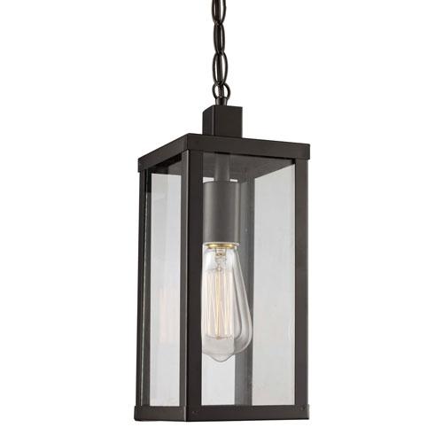 Oxford Black Five-Inch One-Light Hanging Lantern