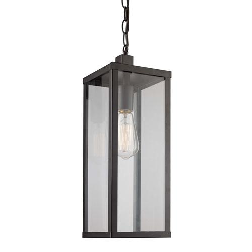 Oxford Black Six-Inch One-Light Hanging Lantern