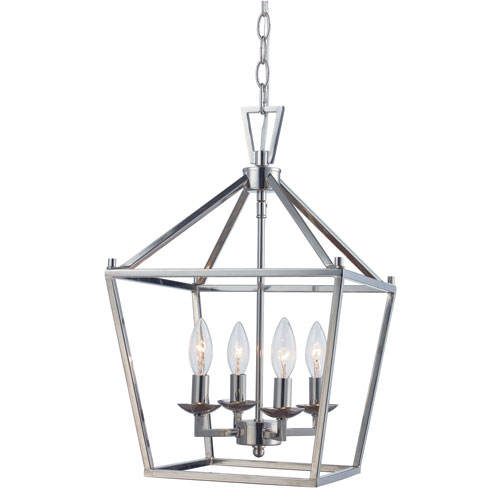 Lacey Polished Chrome Four Light Pendant