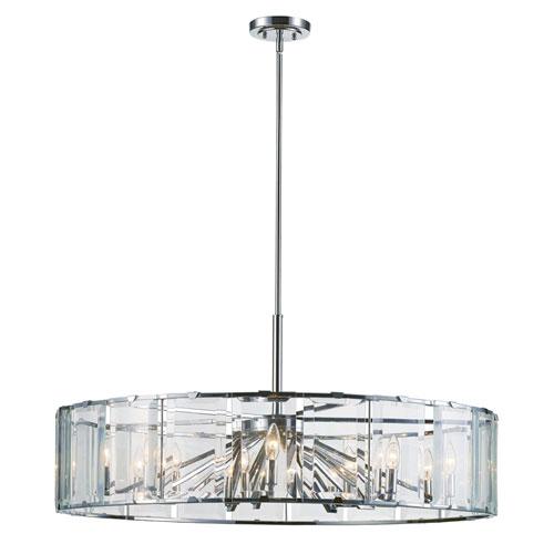 Trans Globe Lighting Vernon Polished Chrome 18-Light Pendant