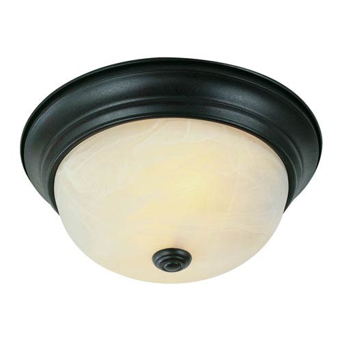 Trans Globe Lighting The Standard 11 Inch Flushmount - Bronze