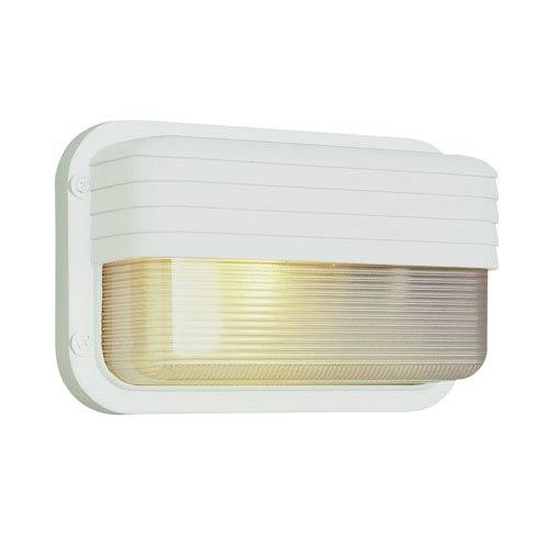 Trans Globe Lighting 10 Inch Wide Browed Bulkhead -White