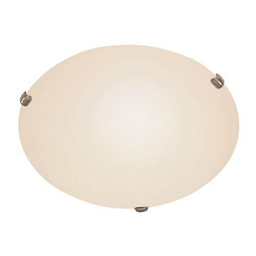 Trans Globe Lighting 15 Inch Color Clips Opal Three-Light Flush Mount