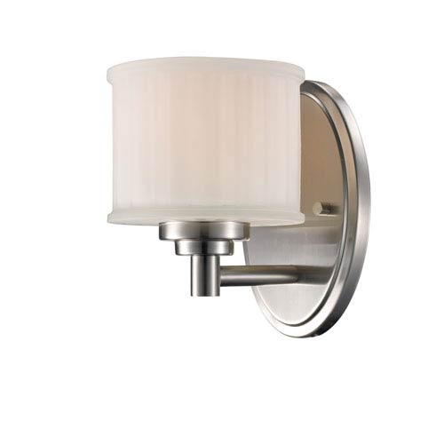 Trans Globe Lighting Cahill Brushed Nickel One-Light Wall Sconce