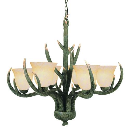 Antler ceiling light fixtures bellacor trans globe lighting rustic antler six light replica deer antler deer antler chandelier aloadofball Gallery