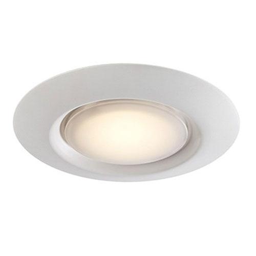 Vanowen White One-Light LED Flush Mount
