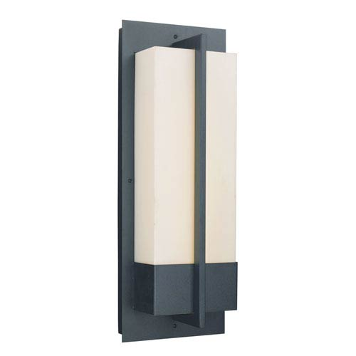 Venue Black 20-Inch One-Light LED Outdoor Wall Sconce