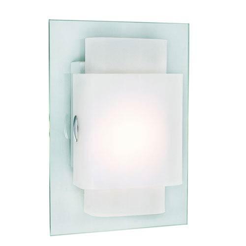 Trans Globe Lighting Double RectanglEnergy Saving Single Wall Sconce -Polished Chrome