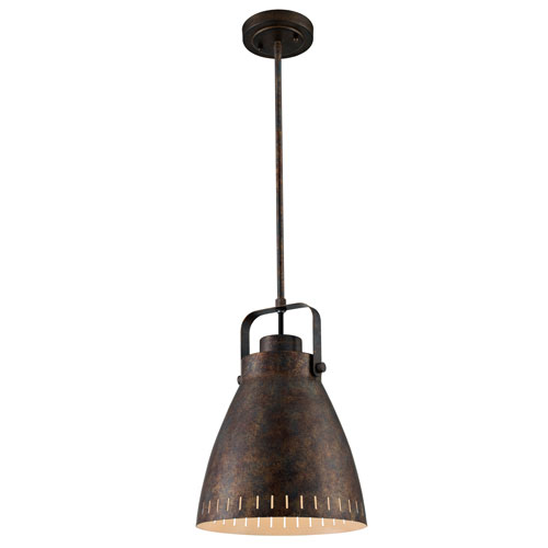 Glenrose Antique Rust One-Light Pendant