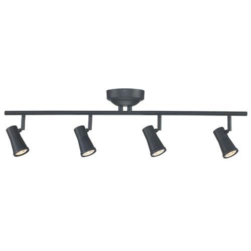 Robbins Oil Rubbed Bronze Four-Light LED Track Light