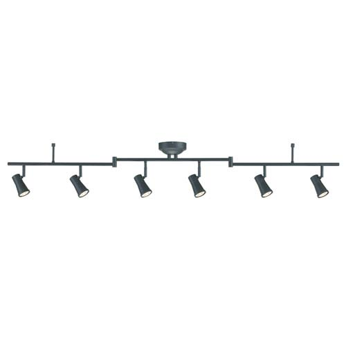 Robbins Oil Rubbed Bronze Six-Light LED Track Light