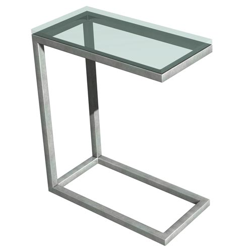 Soho Stainless Steel Snack Table