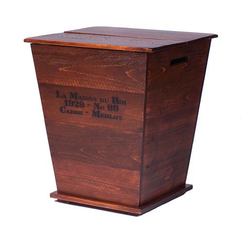2-Day Designs Vineyard Cart End Table