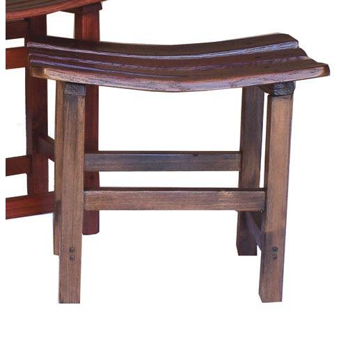 Caramel Wine Master Stave Bench