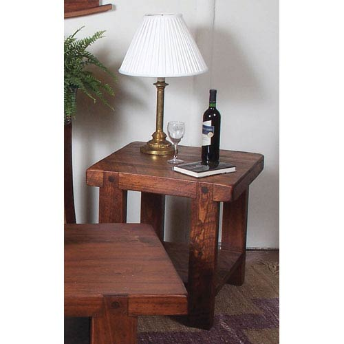 Russian River Pine End Table