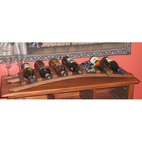Pine Trellis Bottle Display
