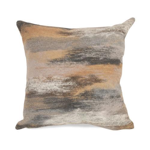 Liora Manne Visions I Taupe Vista Indoor/Outdoor Pillow