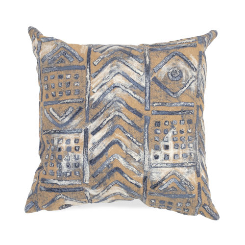 Liora Manne Visions III Multicolor Bambara Indoor/Outdoor Pillow