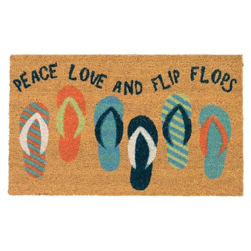 Natura Cool Flip Flops Outdoor Mat
