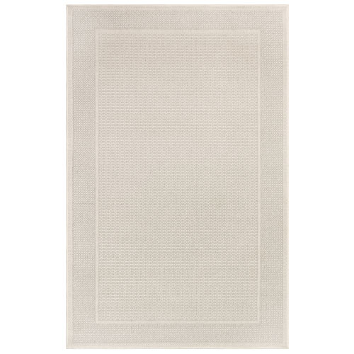 Plymouth Sisal Rectangular 7 Ft. 10 In. x 9 Ft. 10 In. Border Outdoor Rug