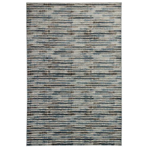 Liora Manne Soho Blue 39 x 59 Inches Stripe Indoor Rug