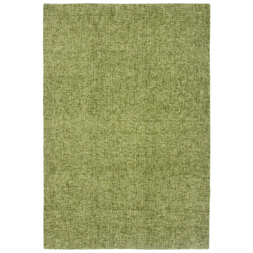 Savannah Green Rectangular Fantasy Indoor Rug