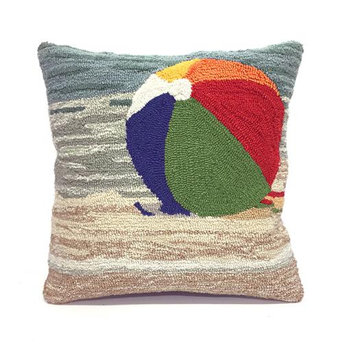 Trans Ocean Import Liora Manne Frontporch Multicolor Square 18 In. Indoor/Outdoor Pillow