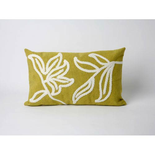 Trans Ocean Import Windsor Lime Pillow
