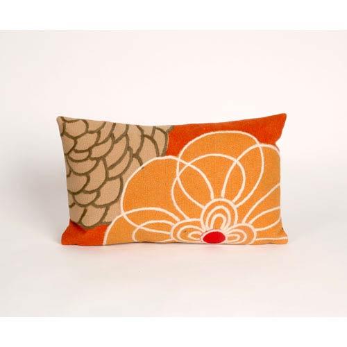 Trans Ocean Import Disco Orange Pillow