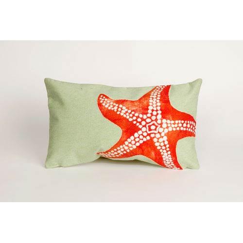 Trans Ocean Import Starfish Seafoam Pillow