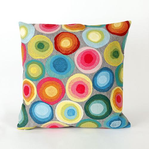 Liora Manne Visions II Grey Rectangular 12 x 20 In. Indoor/Outdoor Pillow