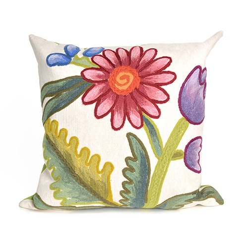 Trans Ocean Import Liora Manne Visions III Multicolor Rectangular 12 x 20 In. Indoor/Outdoor Pillow