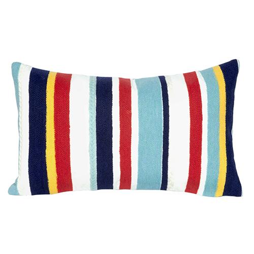 Liora Manne Visions III Multicolor Rectangular 12 x 18 In. Indoor/Outdoor Pillow