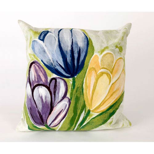 Trans Ocean Import Tulips Cool Pillow