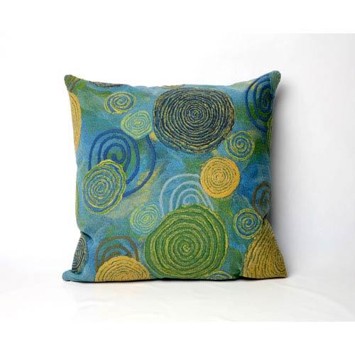 Graffiti Swirl Cool Pillow