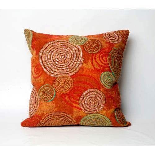 Graffiti Swirl Warm Pillow
