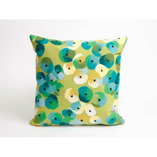 Trans Ocean Import Pansy Lime Pillow