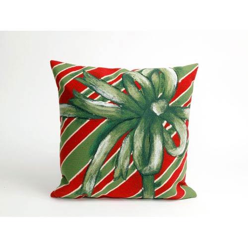 Gift Box Green Pillow