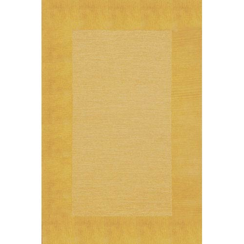 Trans Ocean Import Madrid Border Gold Rectangular 5 Ft. x 8 Ft. Rug