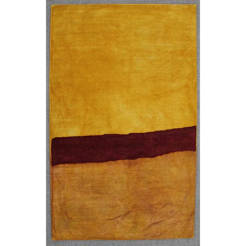 Trans Ocean Import Liora Manne Piazza Gold Rectangular: 3 Ft. 6 In. In. x 5 Ft. 6 In. Rug