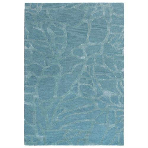 Trans Ocean Import Liora Manne Roma Blue Rectangular: 3 Ft. 6 In. In. x 5 Ft. 6 In. Rug