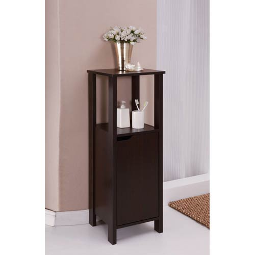 Ambassador Espresso Floor Cabinet