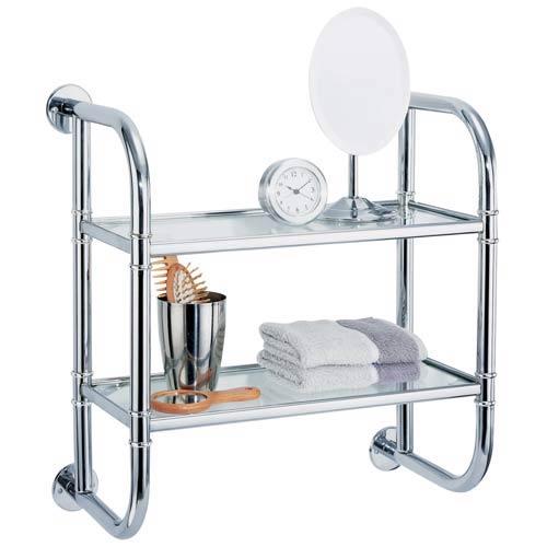 Organize It All Two-Tier Bath Shelf
