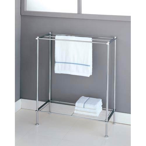 Organize It All Metro Chrome Towel Rack