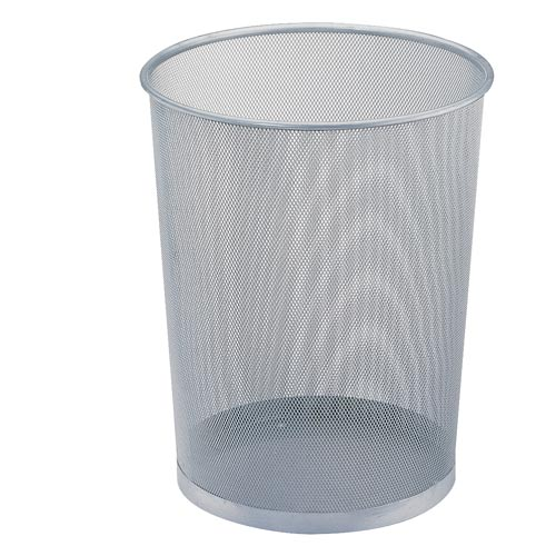 Mesh Set of Twelve Mesh Wastebaskets