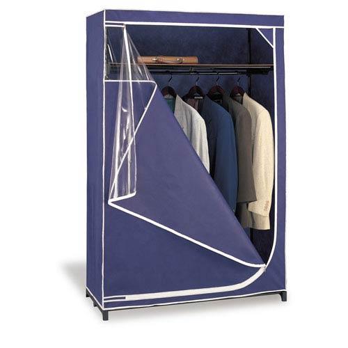 Blue Deluxe Storage Wardrobe