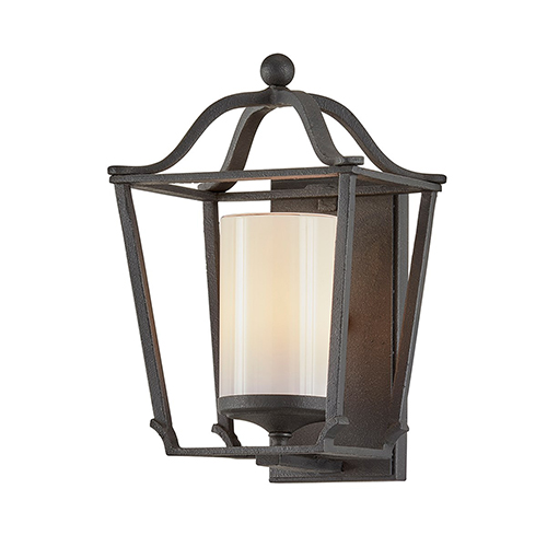 Princeton French Iron Eight-Inch One-Light Wall Sconce