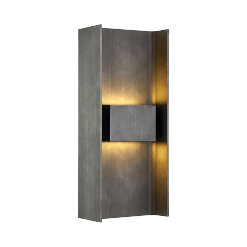 Scotsman Graphite Two-Light LED Wall Sconce